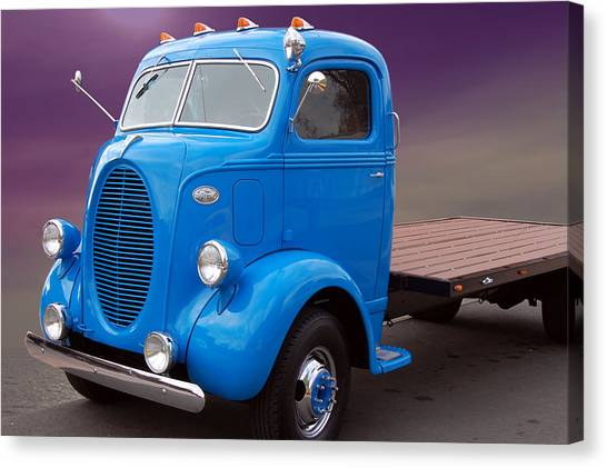 Ford Coe Flatbed Canvas Print