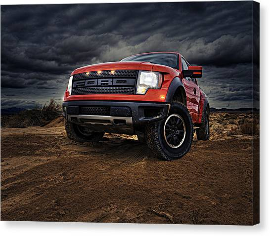 Ford Truck Canvas Print - Ford F 150 Raptor  by Movie Poster Prints