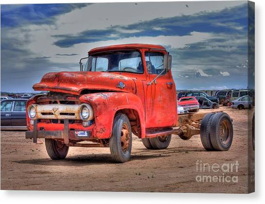 Ford F-350 Canvas Print