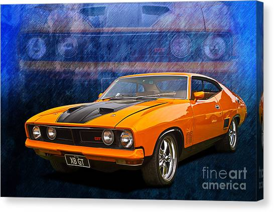 Ford Falcon Xb 351 Gt Coupe Canvas Print
