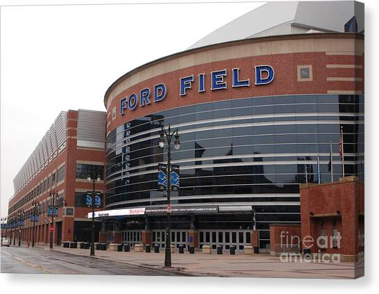 Ford Field Canvas Print