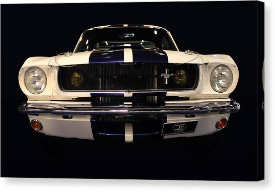 Ford Front Vew Canvas Print