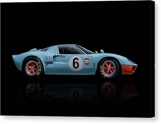 Ford Canvas Print - Ford Gt 40 by Douglas Pittman