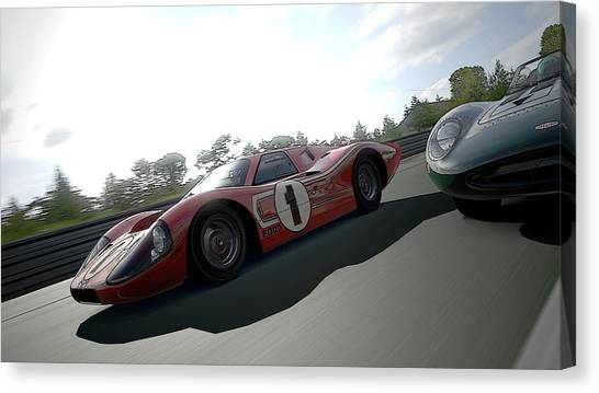 Ford Gt40 Mark Iv Canvas Print