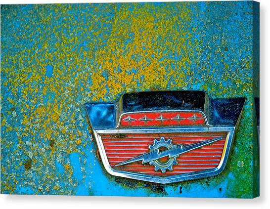 Ford Logo Canvas Print by Craig Perry-Ollila