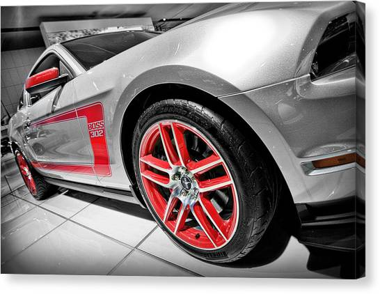 Ford Mustang Boss 302 Canvas Print
