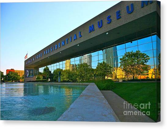Ford Presidential Museum Canvas Print by Robert Pearson