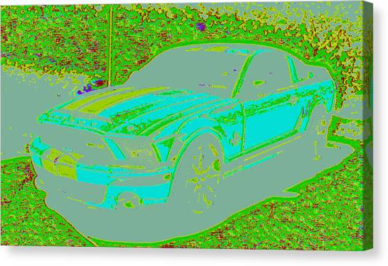 Ford Shelby D4 Canvas Print by Modified Image