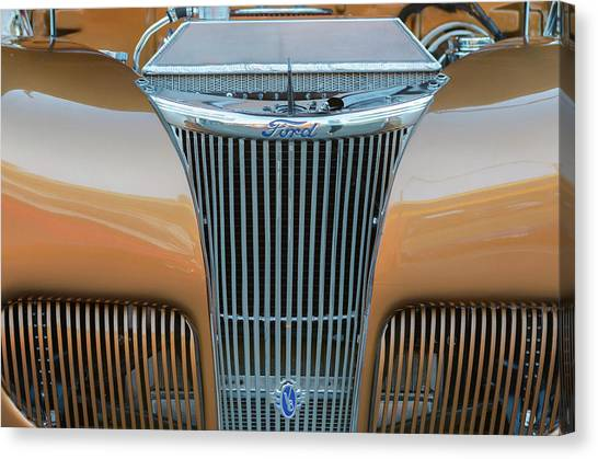 Ford V8 Canvas Print