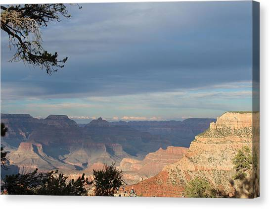 Grand Canyon Canvas Print - Foreshadowing by Amanda McCracken