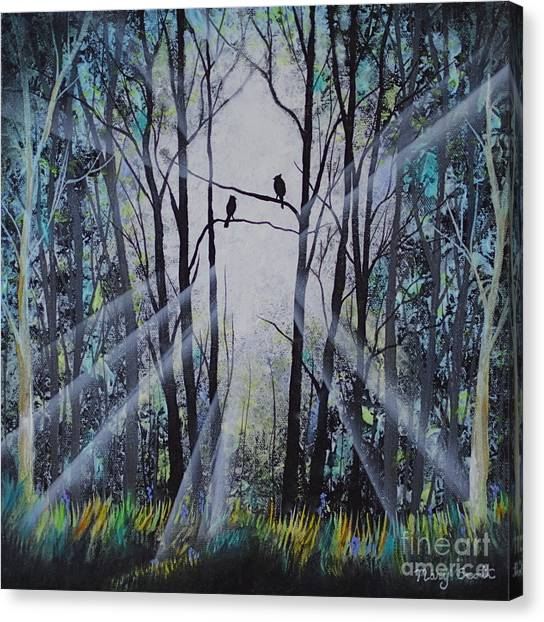Forest Birds Canvas Print