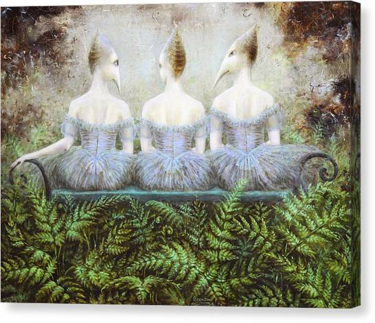 Forest Divas Canvas Print by Lolita Bronzini