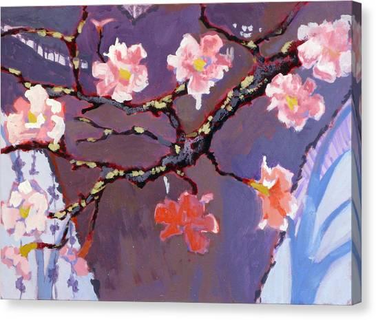 Forest In Bloom Canvas Print by Robert Bissett