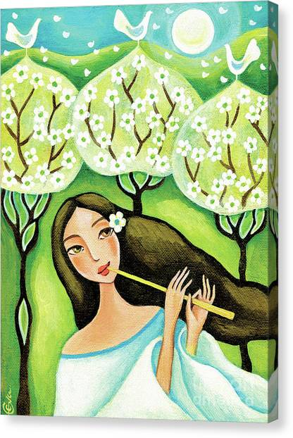 Forest Melody Canvas Print