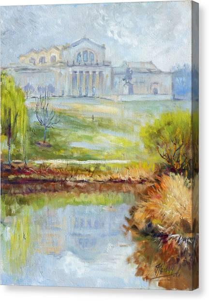Canvas Print - Forest Park -spring by Irek Szelag