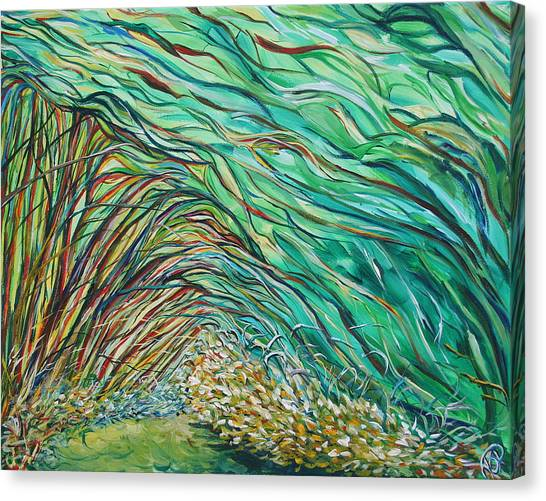 Forest Under The Sea Canvas Print