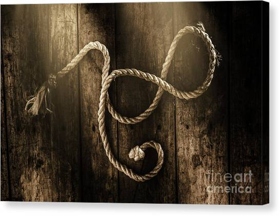 Rope Canvas Print - Forever A Sailor by Jorgo Photography - Wall Art Gallery