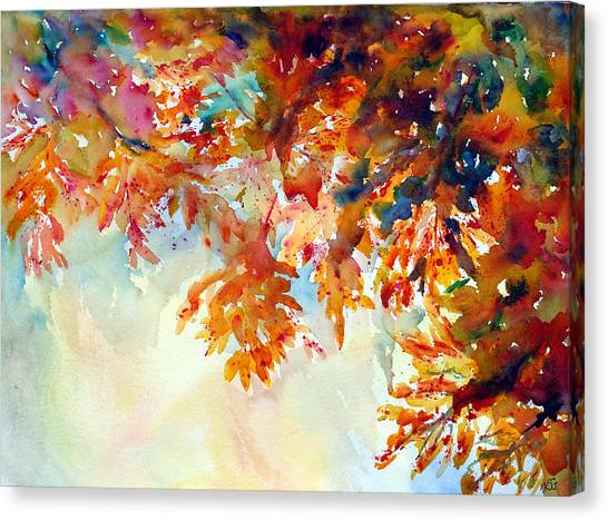 Forever Fall Canvas Print