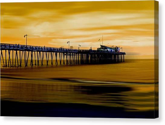 Forever Golden Canvas Print