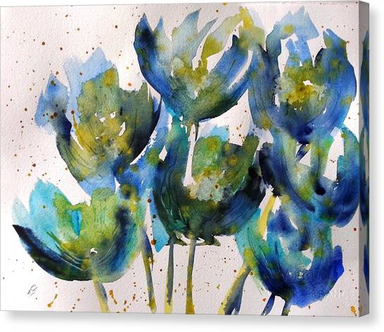 Forever Loving Blue Canvas Print