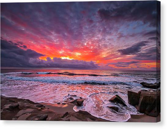 Big Sky Canvas Print - Forever by Peter Tellone