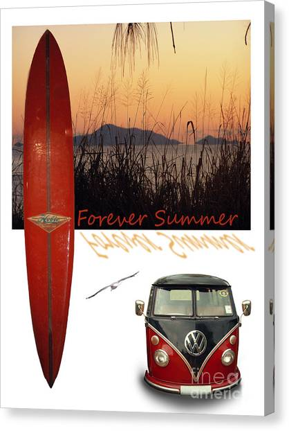 Forever Summer 1 Canvas Print