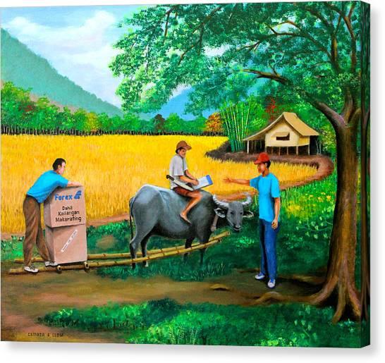 Forex 1 Canvas Print