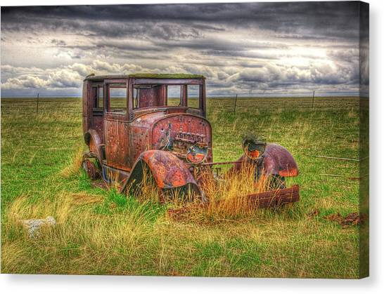 Forgotten By Time. Canvas Print