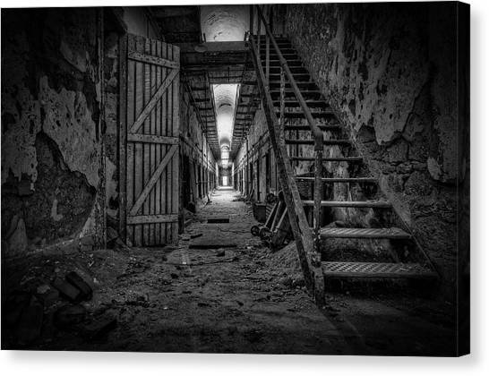 Forgotten Cell Block Canvas Print