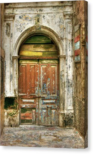 Forgotten Doorway Canvas Print