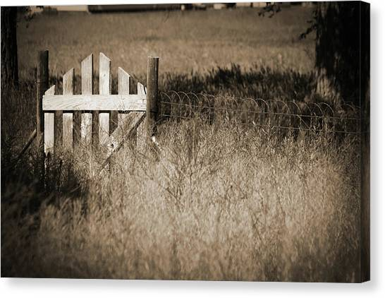 Forgotten Gateway Canvas Print