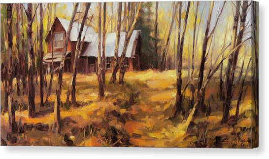 Forest Paths Canvas Print - Forgotten Path by Steve Henderson