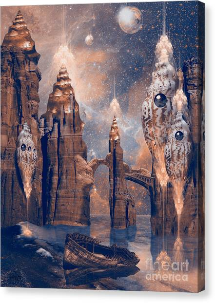 Forgotten Place Canvas Print