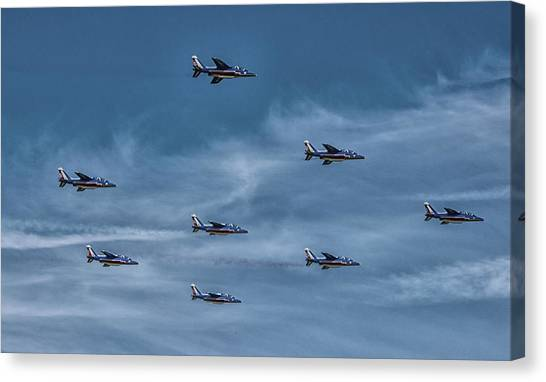 Nato Canvas Print - Formation by Martin Newman