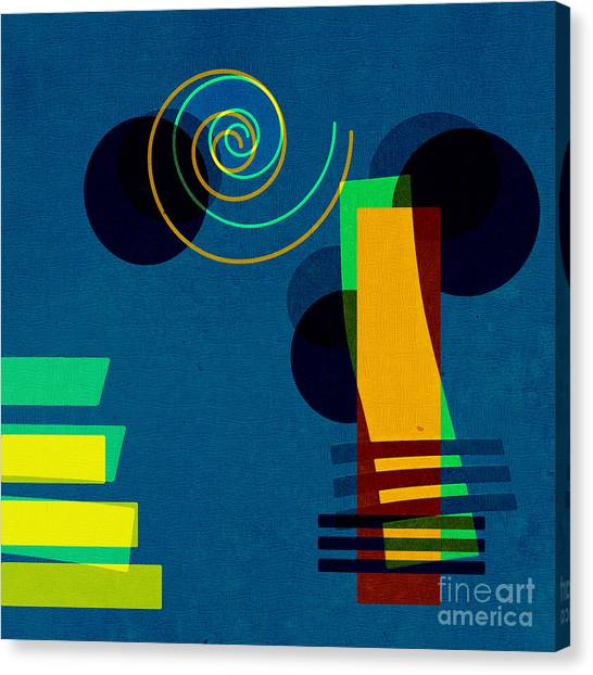 Shapes Canvas Print - Formes - 03b by Variance Collections