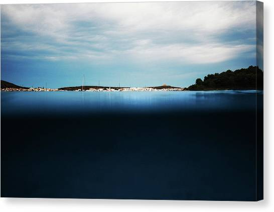 Fornells, Balearic Islands Canvas Print