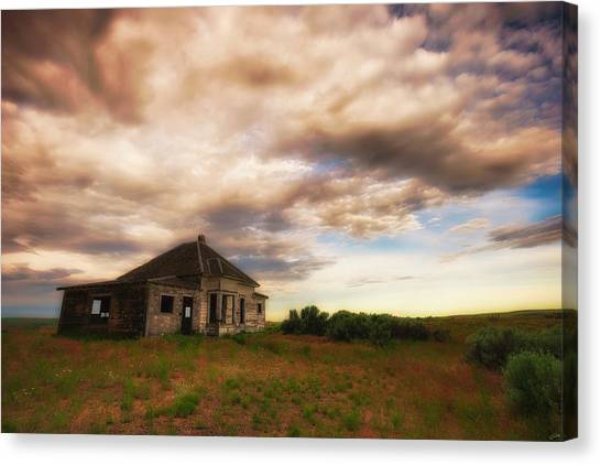 Forsaken Property Canvas Print