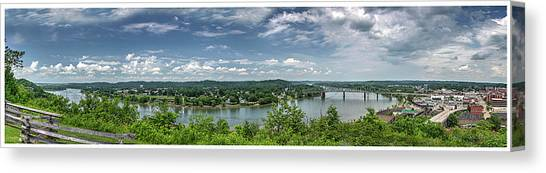 Fort Boreman Lookout Canvas Print
