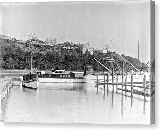 Fort George Amusement Park Canvas Print