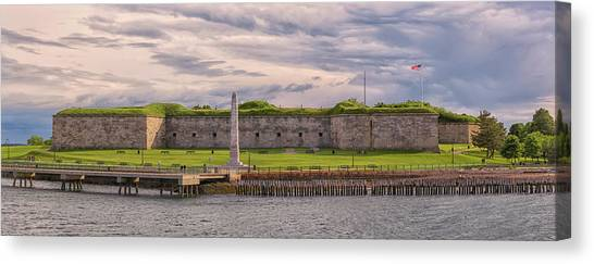 Fort Independence At Castle Island Canvas Print