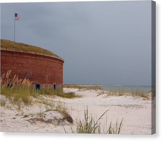 Fort Massachusetts  Canvas Print