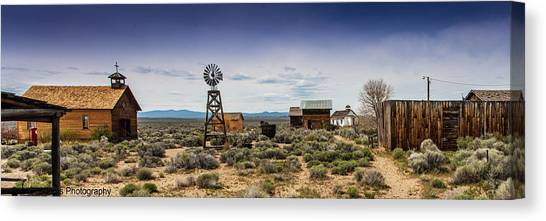 Fort Rock Museum Canvas Print