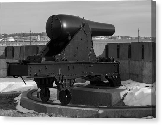 Fort Trumbull Cannon Canvas Print