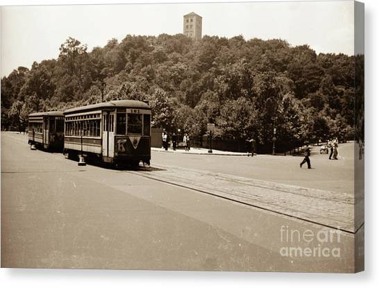 Fort Tryon Trolley Canvas Print