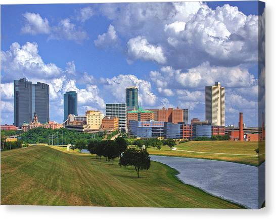 Fort Worth #1 Canvas Print