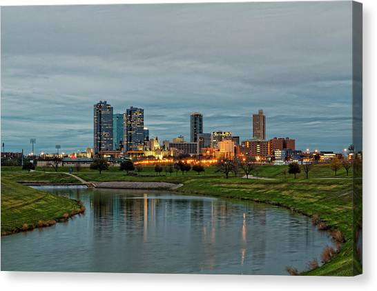 Fort Worth Color Canvas Print