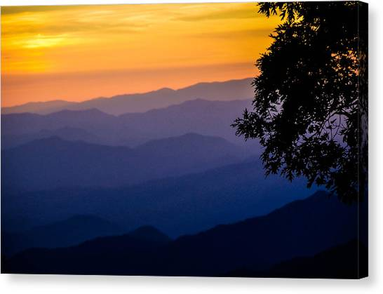 Fortuitous Sunset Canvas Print