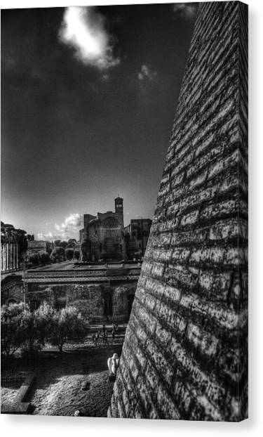 Forum View Canvas Print by Brian Thomson