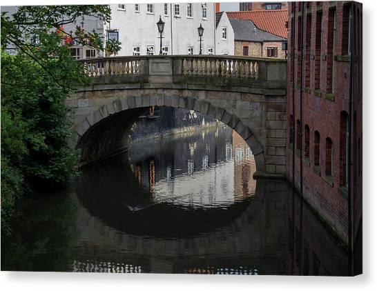 Foss Bridge - York Canvas Print
