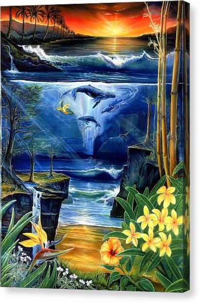 Fountain Canvas Print by Sevan Thometz